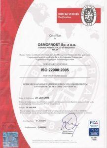 ISO 22000:2005 DE